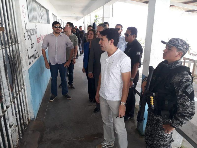 Justiça e Ministério Público realizam primeira inspeção do ano no IAPEN