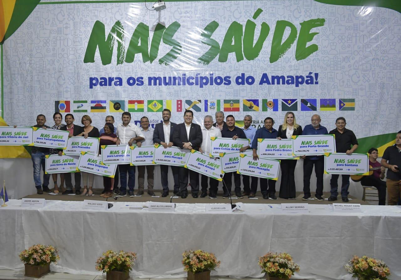 Municípios do Amapá recebem mais de R$ 22 milhões para investimentos em saúde
